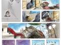 Grafika, Sandra Grygierzec, komiks - przykladowa strona2, 2014