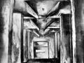 Grafika, Tomasz Pydyn, Industrialna katedra VIII, litografia, 2012